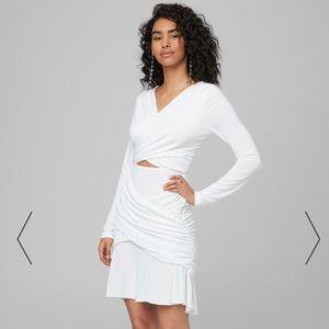 Bebe Quin Ruched Mini Dress
